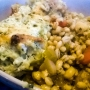 Veggie Barley Stew with Cheezy-herby Dumplings